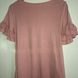 pink top from francescas